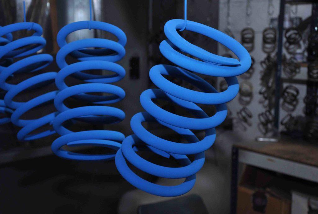 powder coating springs